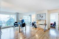 Downtown luxury - furnished two bedroom, old montreal