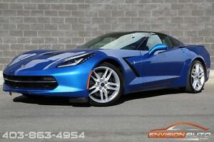 2015 Chevrolet Corvette STINGRAY Z51 3LT COMPETITION SEATS