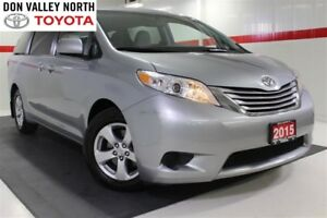 2015 Toyota Sienna LE 8 PASS Btooth BU Cam Heated Seats