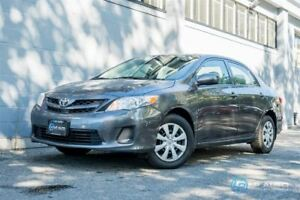 2013 Toyota Corolla CE! Only 79000kms! No Accidents!!