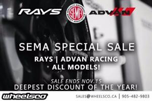 Rays Engineering / Advan Racing Wheels Collection Sema Special