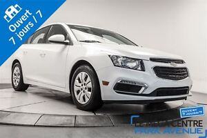 2015 Chevrolet Cruze LT 1LT, BLUETOOTH, CAMERA DE RECUL
