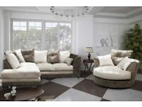 Dylan Corner Or 3+2 Sofa Different Colors| footstool / cuddle chair / are available