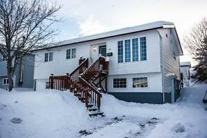 44A Grieve St. Cozy Apartment Walking Distance to Bowring Park