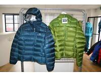 Rab infinity endurance padded jacket size large men's