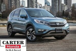 2015 Honda CR-V Touring, one owner, no accidents