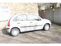 Citroen C3 for sale in good condition, very cheap to run and very reliable.