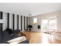 Spacious two double bedroom apartment with stunning canal views
