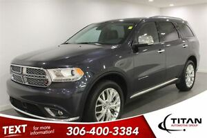 2014 Dodge Durango Citadel| Auto| AWD| Loaded| Low Kms
