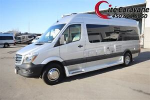 2016 Pleasure-Way Plateau TS ! RV / VR Classe B 22 pieds mercede