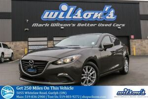2014 Mazda MAZDA3 GS-SKYACTIV SEDAN! REAR CAMERA! HEATED SEATS!