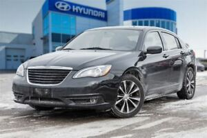 2013 Chrysler 200 S, NAVI, LEATHER, ALLOYS