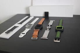 Apple Watch series 2 42mm space grey bundle!!!!
