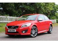 VOLVO C30 2.0 R-DESIGN 3d 145 BHP 5 STAR AWARD WINNING DEALER (red) 2012