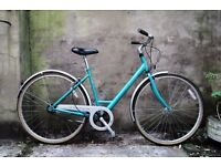 RALEIGH PIONEER CHILTERN, 19 inch, 48 cm, ladies womens hybrid road city bike, 3 speed