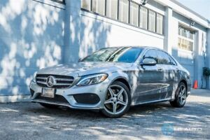 2015 Mercedes-Benz C-Class C400 4MATIC! Loaded! No Accidents!