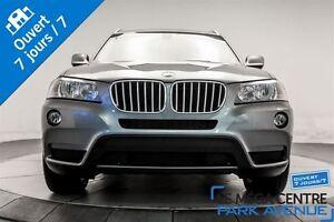 2013 BMW X3 xDrive28i TOIT PANORAMIQUE