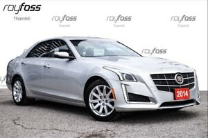2014 Cadillac CTS **FREE SNOW TIRES**AWD Navigation Only 35321km