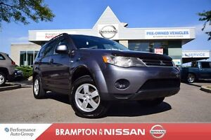 2008 Mitsubishi Outlander ES Accident Free With Safety And E-Tes