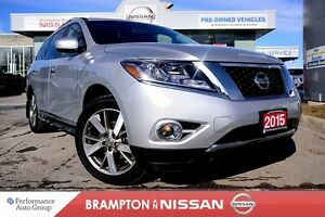 2015 Nissan Pathfinder Platinum *NAVI|Heated seats|DVDs*