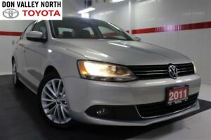 2011 Volkswagen Jetta 2.0 TDI Highline Nav Sunroof Btooth