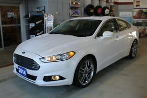 2014 FORD FUSION TITANIUM - ALL WHEEL DRIVE - LOW FINANCE RATES