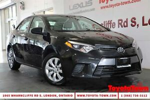 2015 Toyota Corolla SINGLE OWNER LE HEATED SEATS & BACKUP CAMERA