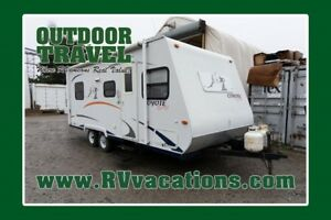 2007 K-Z INC. COYOTE SPORT 210QB USED TRAVEL TRAILER