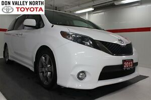 2013 Toyota Sienna SE 8 Passenger (A6) Btooth Moonroof Alloy whe