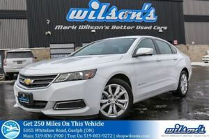 2017 Chevrolet Impala LT LEATHER! POWER SEATS! TOUCH SCREEN! BLU