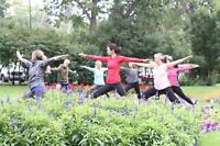 Back in 2017! Outdoor Yoga Every Sunday at 1pm in Stanley Park!
