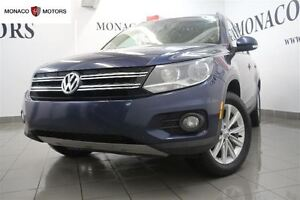 2014 Volkswagen Tiguan 4MOTION BT PANR LEATHER HEATED SEATS