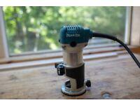 Makita RT0700C Laminate trimmer / router / 240v