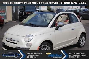 2012 Fiat 500C Lounge++ CUIR+DECAPOTABLE