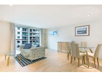 $STUNNING 2 BED FLAT IN DRAKE HOUSE, ST GEORGE WHARF, DIRECT RIVER VIEWS. VAUXHALL-CALL NOW TO VIEW!