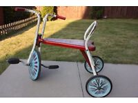Vintage Raleigh Children Kids Pedal Trike Tricycle