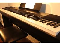 Digital Piano Casio CDP-120, bench, piano stool and cover set