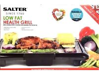 Salter EK2331 low fat health grill with a marble effect coating