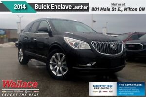 2014 Buick Enclave LEATHER/MOONROOF/HTD SEATS/REAR CAM/NAV/20s/B