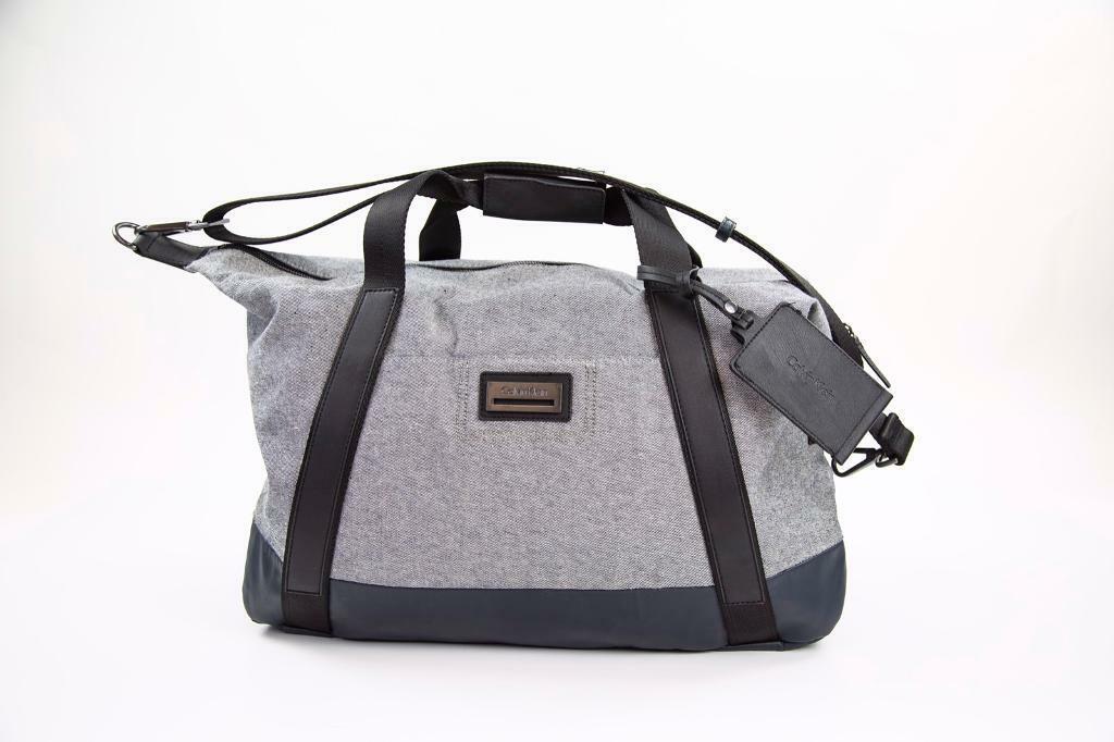 ce7f3e7209 Calvin Klein Travel Bag Weekender Duffle Bag Gray | in Clapham ...