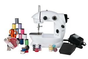 Sunbeam Mini Portable Sewing Machine Drop In Bobbin For Easy Set Up - FREE SHIPPING