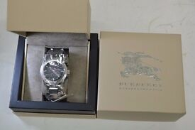 Burberry mens sport(chronograph) watch ex display in wrapping and box