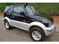 Suzuki Jimny o2 Convertible low low low miles, new clutch cam belt roof, ready to go anywhere.