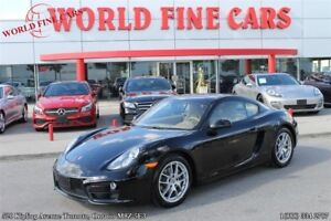 2014 Porsche Cayman *6-speed manual*