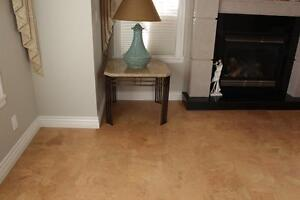 Get Your Cork Floor on Sale!! Comparable retail pricing $8.29  – we save you $4 sqft