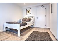 Ensuite double room in a 2 bed flat on the Northern Line