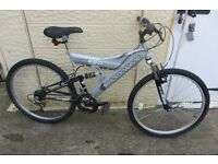bike Shockwave 550 mans 26inch wheel mountain bike