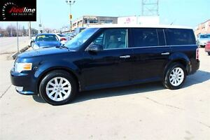 2010 Ford Flex SEL AWD WHITE TOP-PANO ROOF