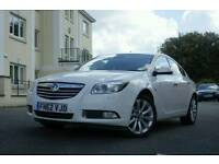 62 (2012) VAUXHALL INSIGNIA 2.0 CDTi ecoFLEX ELITE Nav (160) White. Full Leather interior