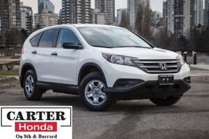 2014 Honda CR-V LX, one owner, low kms